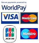 WorldPay cards accepted